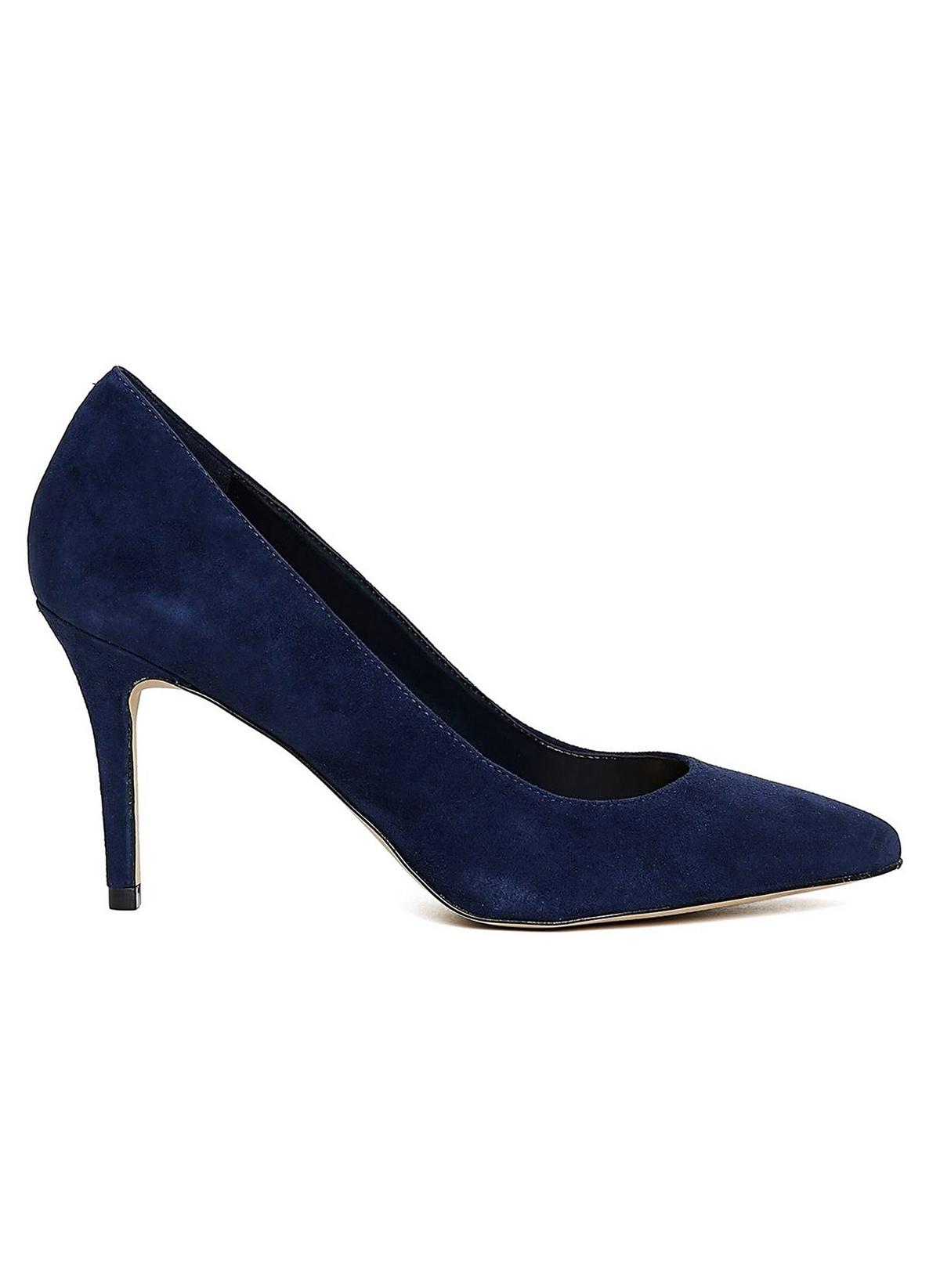 058d8086f5201 Aldo Kadın İnce Topuklu Ayakkabı Lacivert Süet   Morhipo   19884455